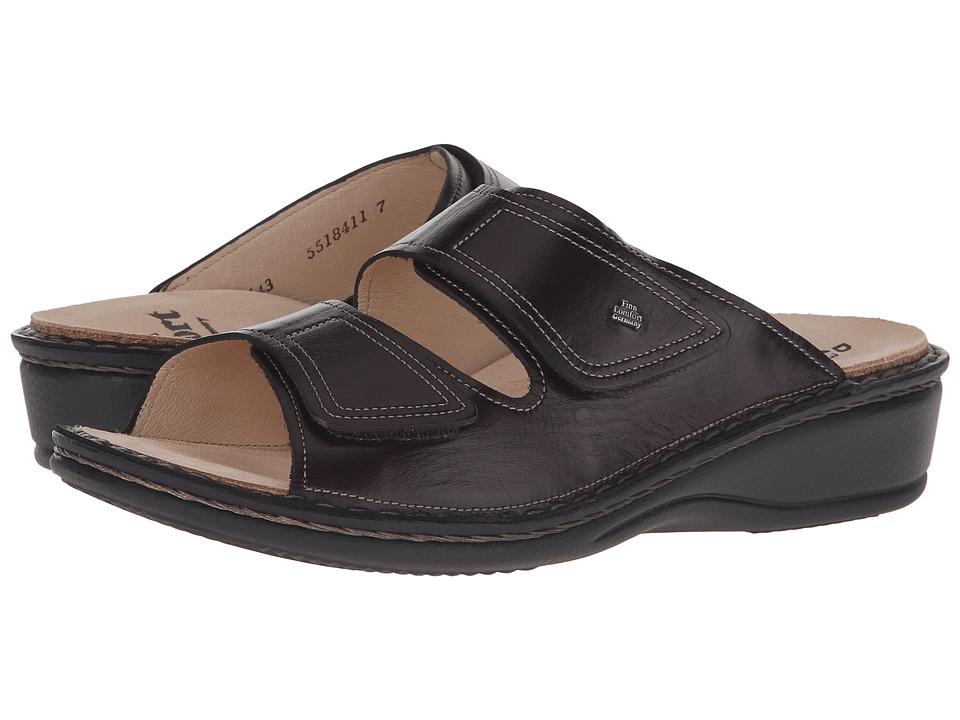 Finn Comfort - Jamaica - 82519 (Kaffee Senegal Leather Soft Footbed) Women's Slide Shoes