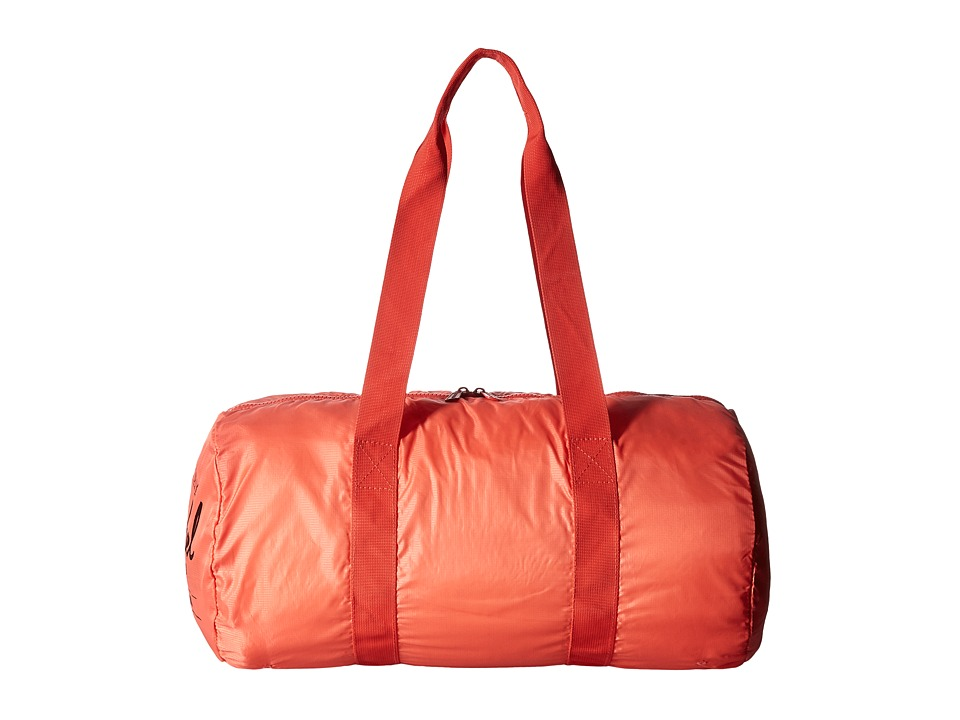 Herschel Supply Co. - Packable Duffle (Hot Coral) Duffel Bags