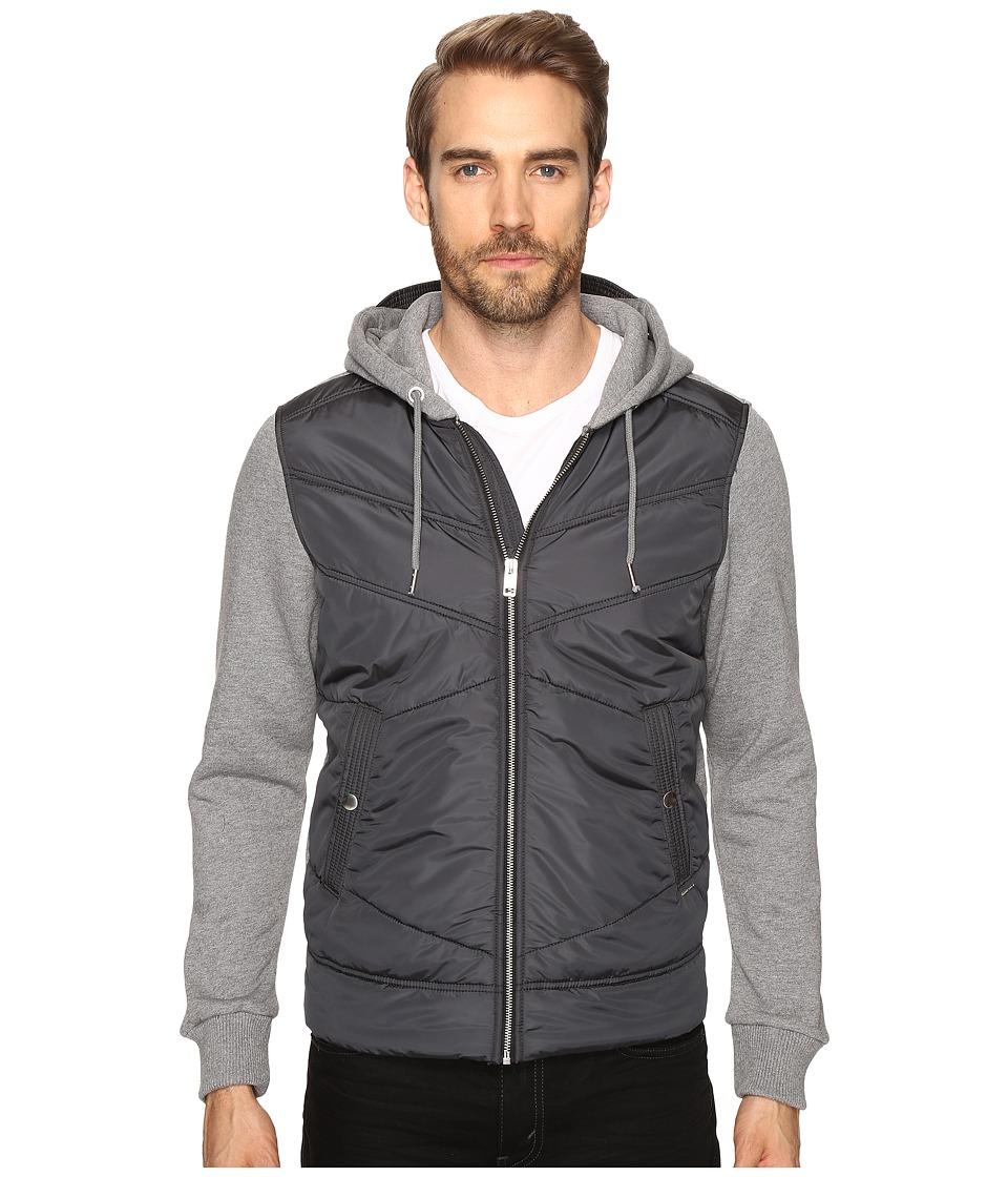 Diesel - S-Nilh Jacket (Grey/Black) Men's Coat