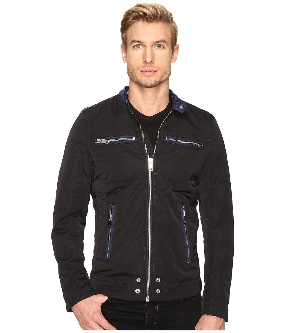 Diesel - J-Neverzip Jacket (Black) Men's Coat
