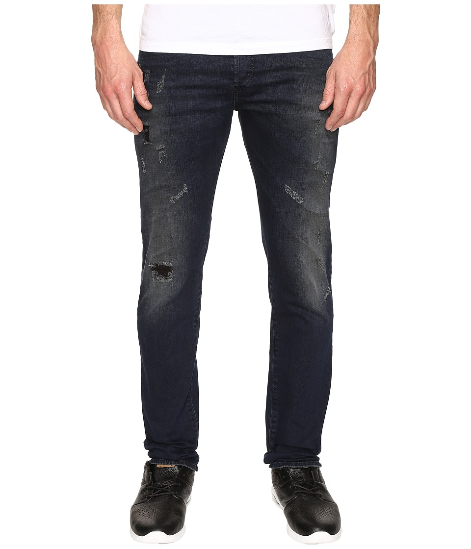 Diesel - Buster Slim Straight Jeans 0677K (Denim) Men's Jeans