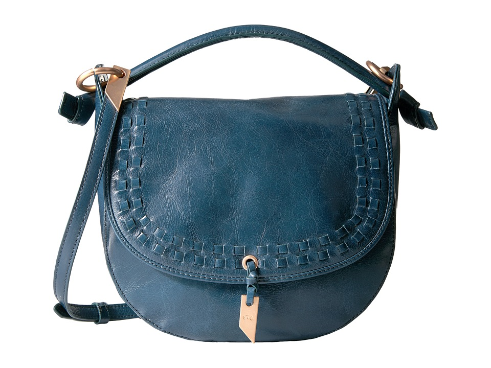 Foley & Corinna - Violetta Saddle Bag (Petrolio) Handbags