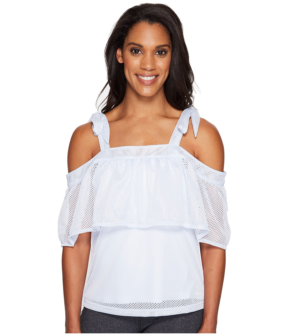 PUMA - Xtreme Off the Shoulder Tee (Halogen Blue) Women's T Shirt