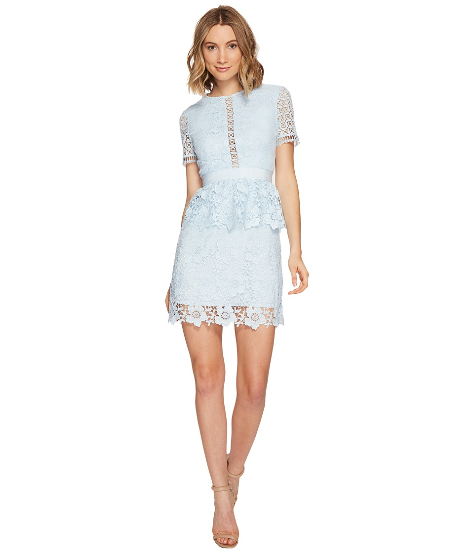 Ted Baker - Dixa Layered Lace Skater Dress (Baby Blue) Women's Dress