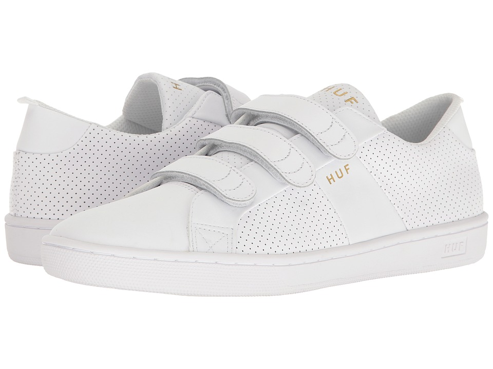 HUF - Boyd (White Hook and Loop) Men's Skate Shoes