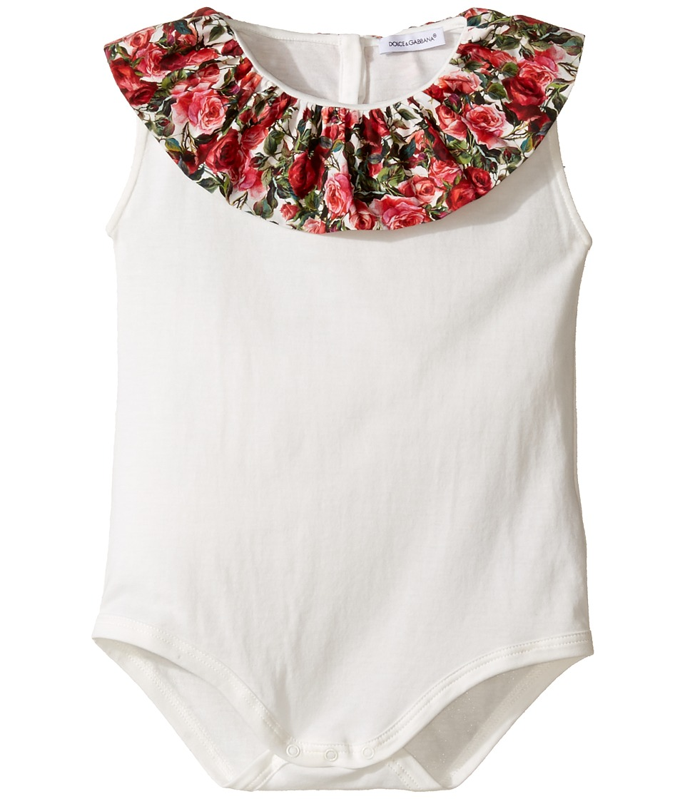 Dolce & Gabbana Kids - Mambo One-Piece (Infant) (Carretto Print) Girl's Jumpsuit & Rompers One Piece