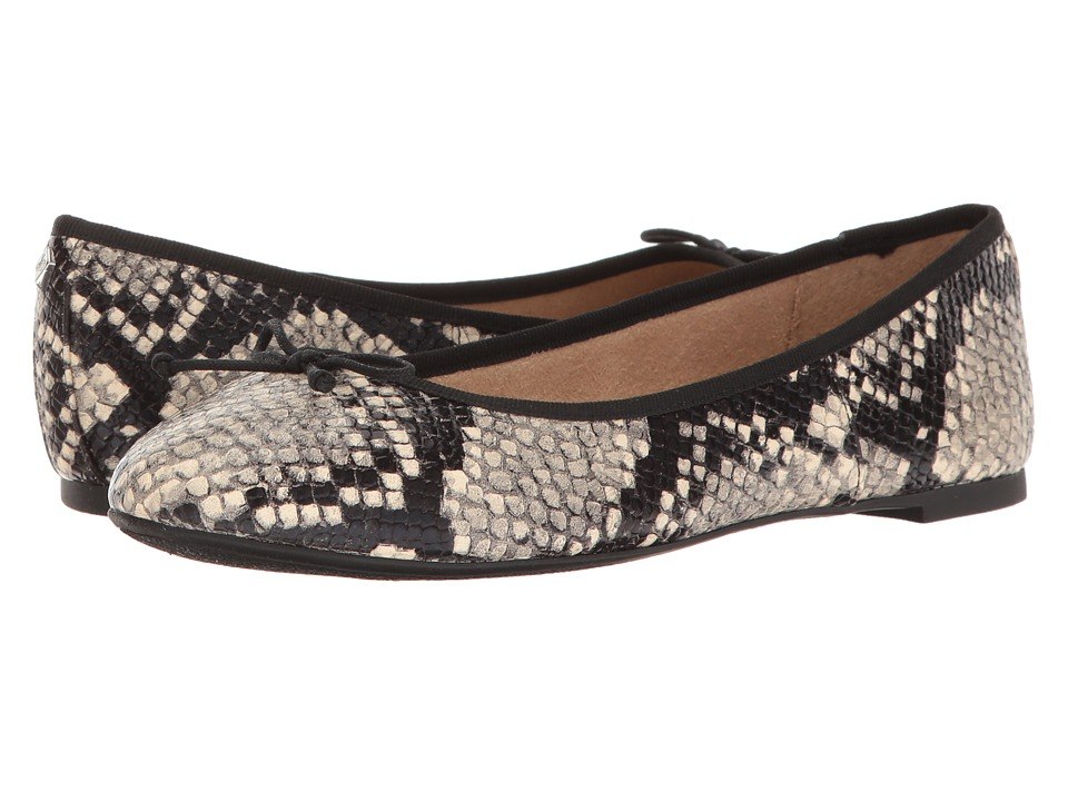 Sam Edelman - Carla (Putty Shiny Burmese Snake Print) Women's Dress Sandals