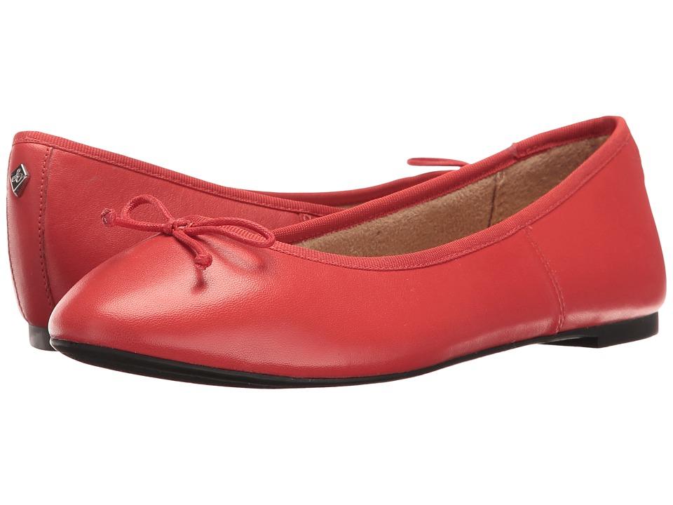 Sam Edelman - Carla (Bittersweet Cherry Leather) Women's Dress Sandals