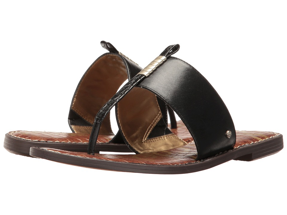 Sam Edelman - Kaye (Black/Jute) Women's Sandals