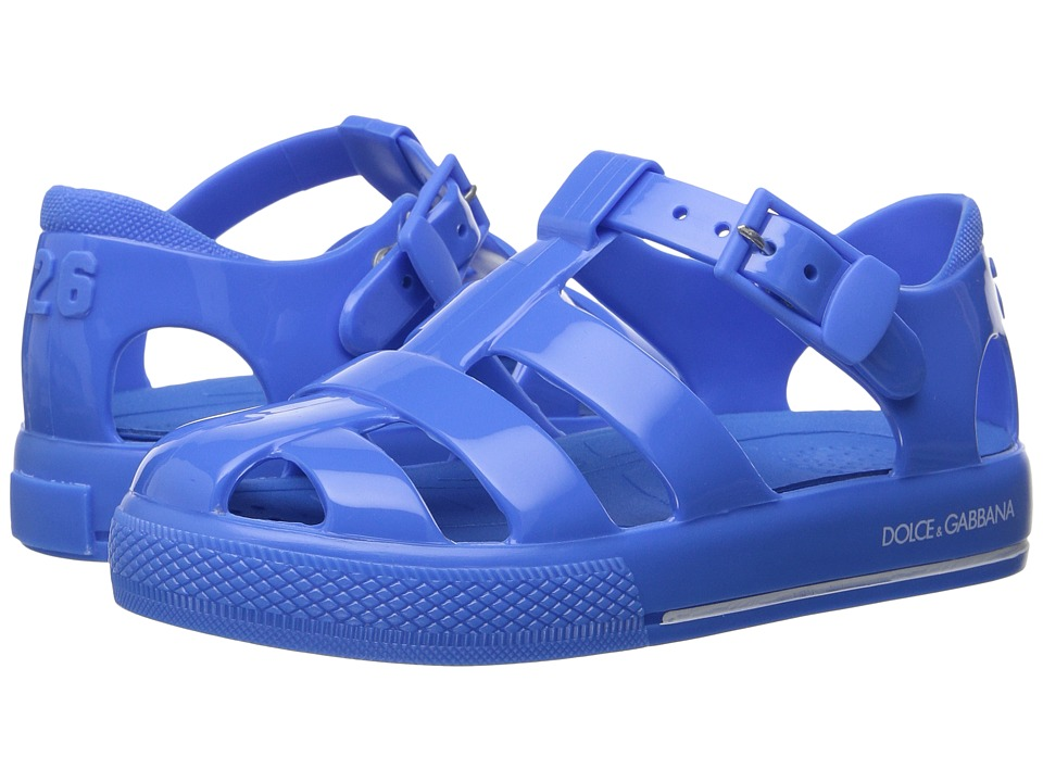Dolce & Gabbana Kids - Mare PVC Sandal (Infant/Toddler/Little Kid) (Light Blue) Kids Shoes