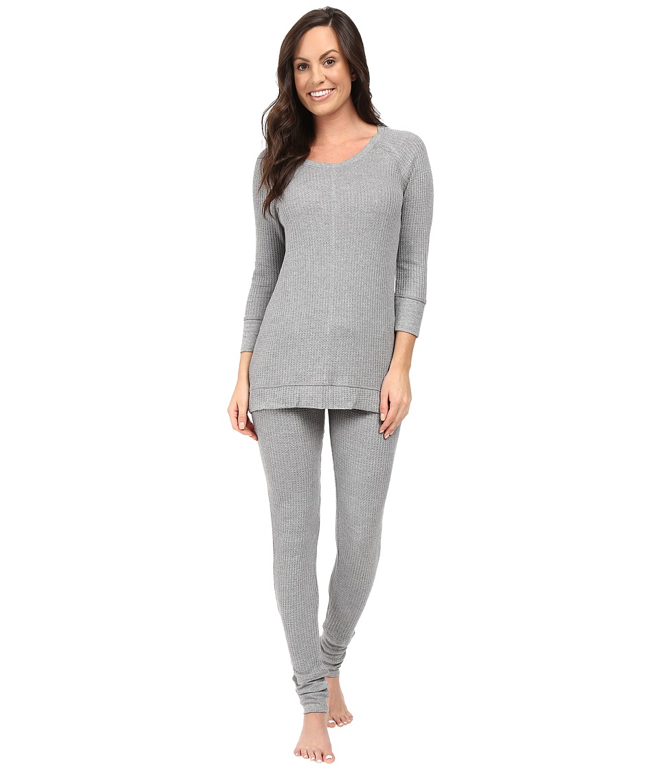 Splendid - Lounge Set (Med Marled Grey Heather) Women's Pajama Sets