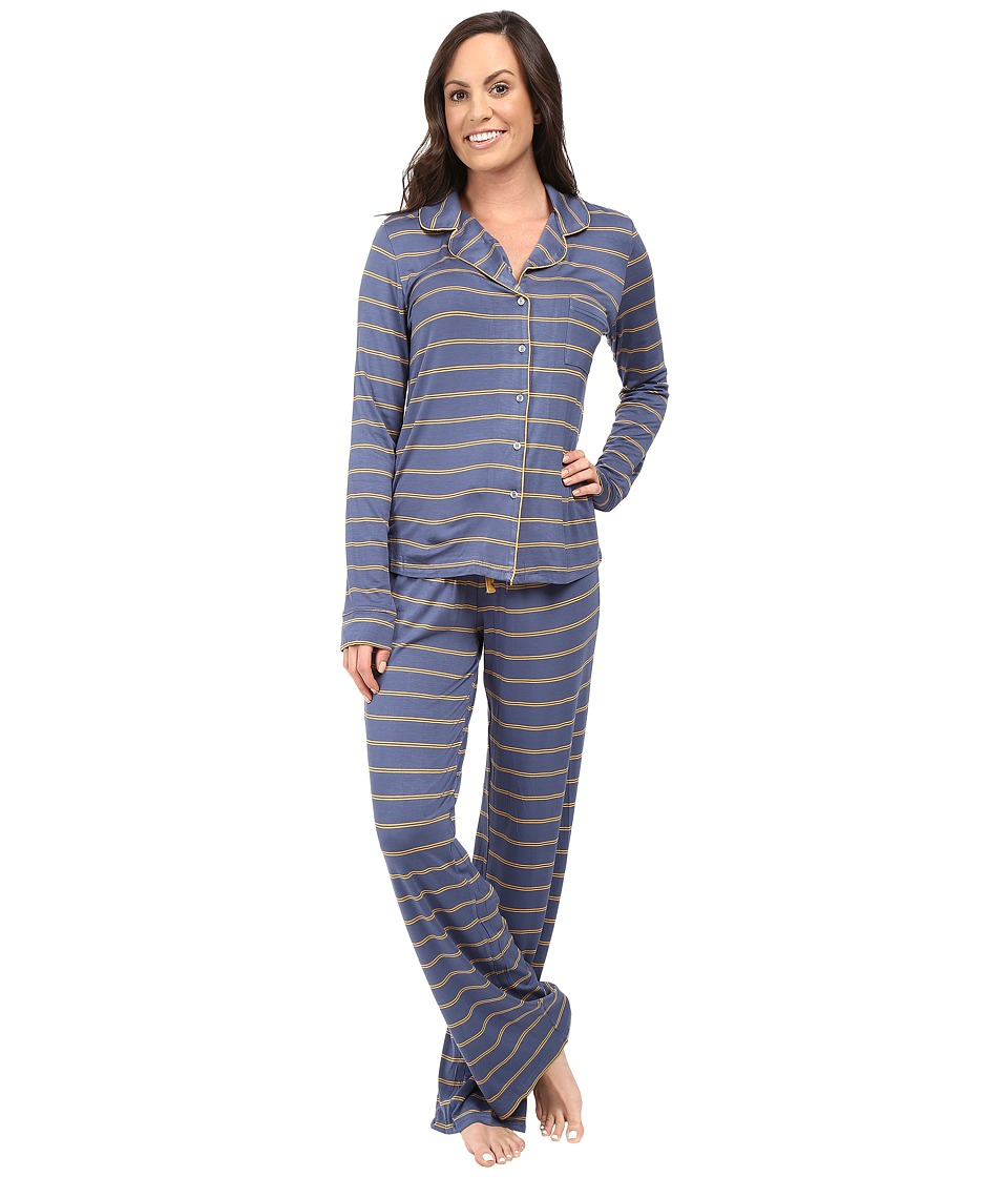 Splendid - Classic PJ Set (Double Stripe) Women's Pajama Sets