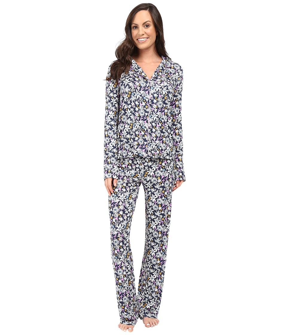 Splendid - Classic PJ Set (Winter Floral) Women's Pajama Sets