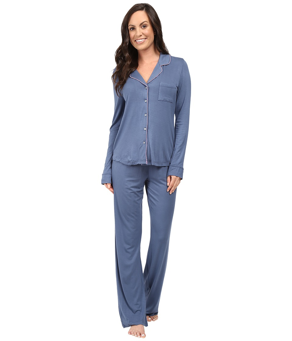 Splendid - Classic PJ Set (Blue Flint) Women's Pajama Sets