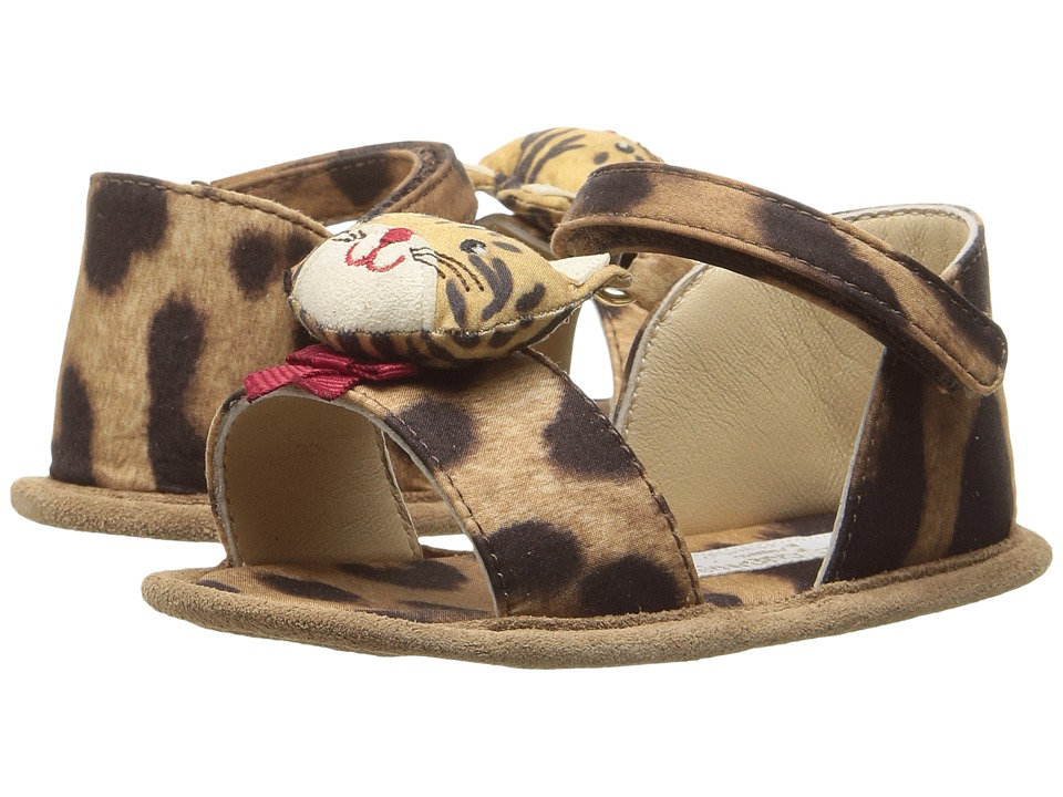 Dolce & Gabbana Kids - Zambia Sandal (Infant/Toddler) (Leopard) Girls Shoes