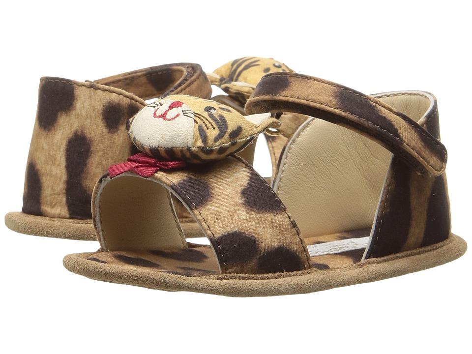 Dolce & Gabbana Kids - Zambia Sandal (Infant/Toddler) (Leopard) Girls Shoes