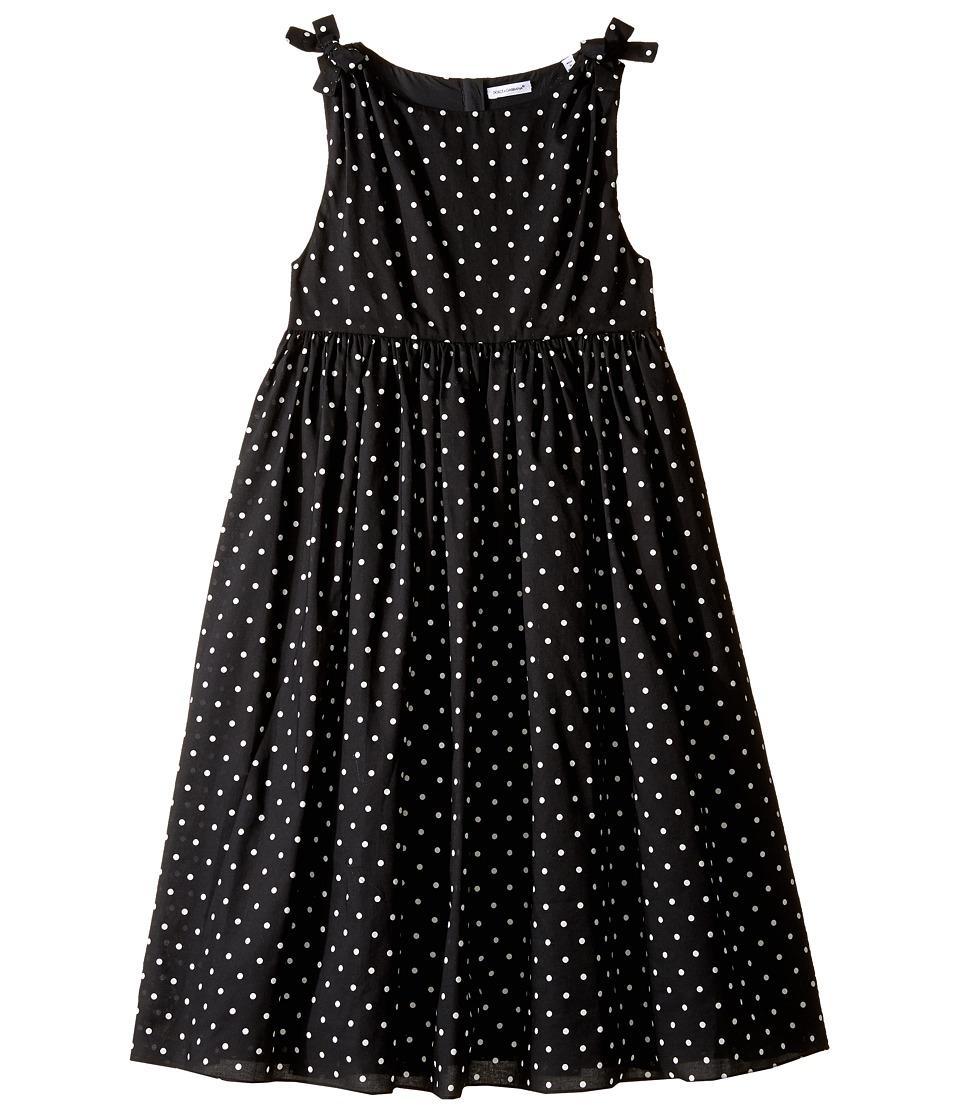 Dolce & Gabbana Kids - Tropical City Dot Dress (Big Kids) (Print) Girl's Dress