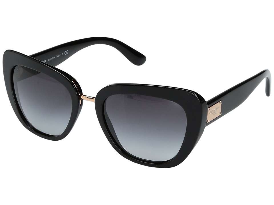 Dolce & Gabbana - DG4296 (Black/Grey Gradient) Fashion Sunglasses