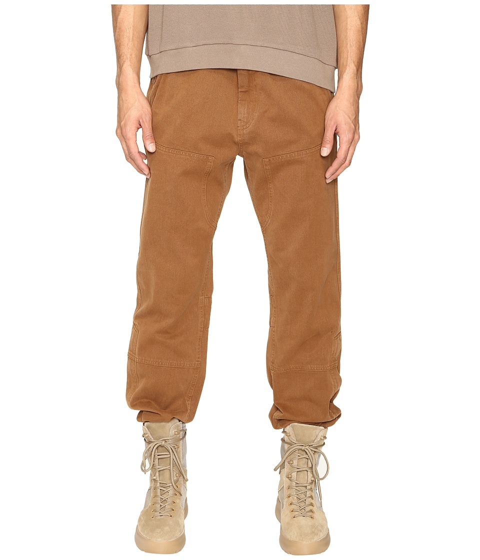 adidas Originals by Kanye West YEEZY SEASON 1 - Worker Pants (Timber) Men's Casual Pants