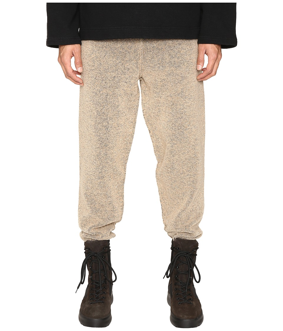adidas Originals by Kanye West YEEZY SEASON 1 - Knit Pants (Brown) Men's Casual Pants