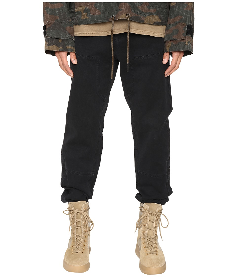 adidas Originals by Kanye West YEEZY SEASON 1 - Worker Pants (Caviar) Men's Casual Pants