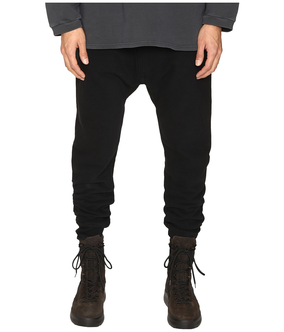 adidas Originals by Kanye West YEEZY SEASON 1 - Long Jon Pants (Caviar) Men's Casual Pants