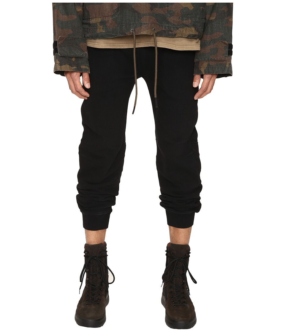 adidas Originals by Kanye West YEEZY SEASON 1 - Military Pants (Caviar) Men's Casual Pants