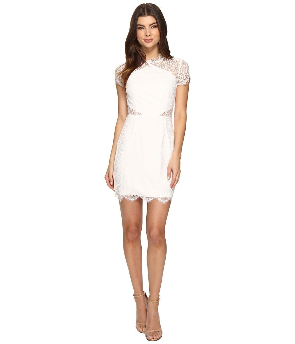 KEEPSAKE THE LABEL - Day Dream Lace Mini Dress (Ivory) Women's Dress