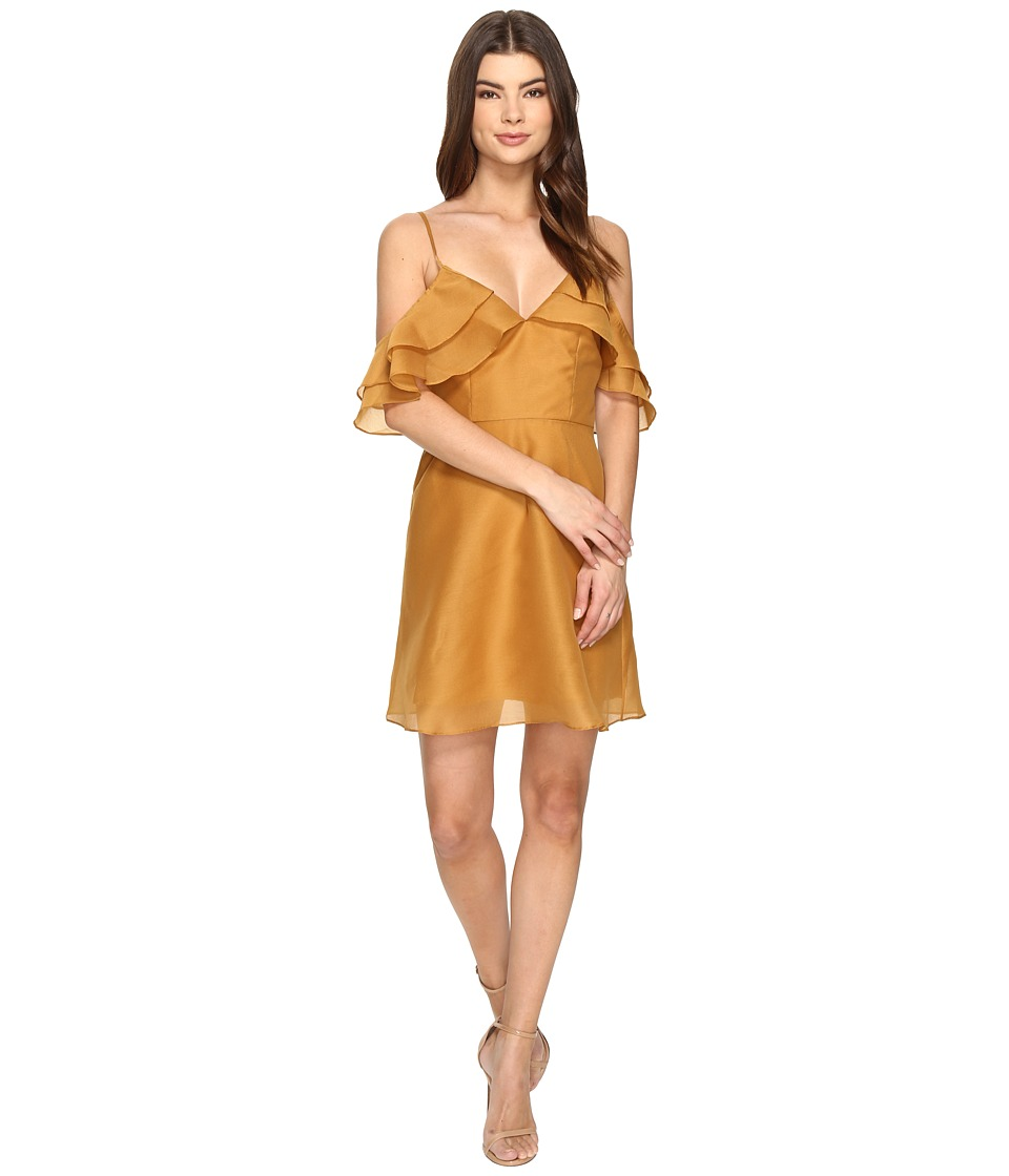 KEEPSAKE THE LABEL - Lost Lover Mini Dress (Amber) Women's Dress