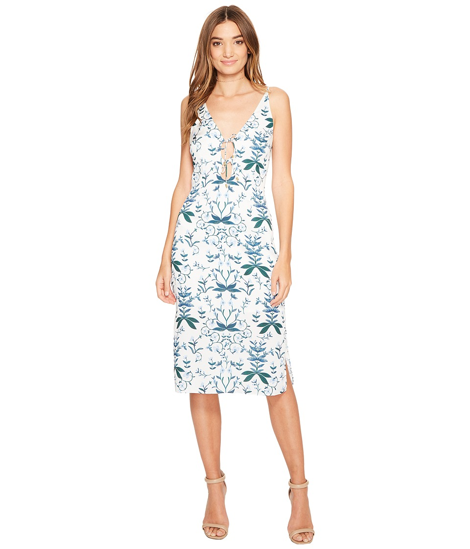 KEEPSAKE THE LABEL - Keeping Score Dress (Light Floral Print) Women's Dress