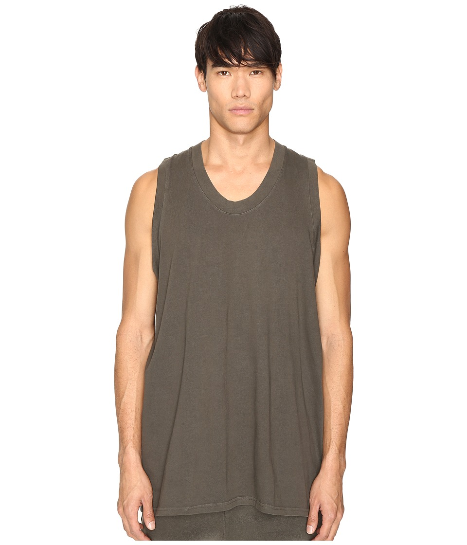 adidas Originals by Kanye West YEEZY SEASON 1 - Jersey Tank Top (Beluga) Men's Sleeveless