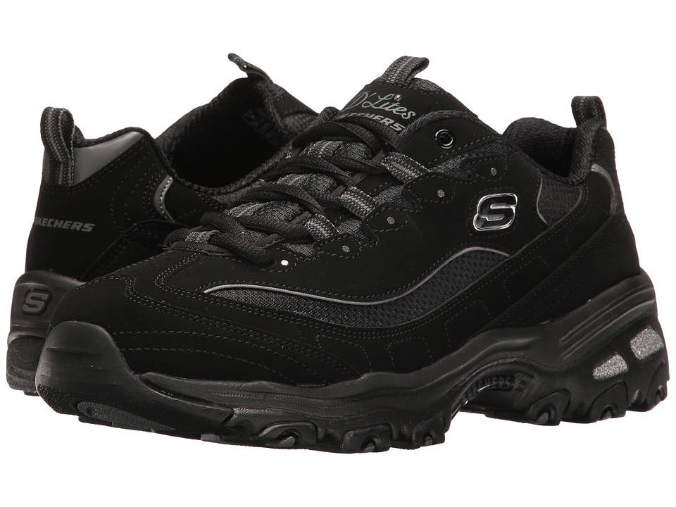 SKECHERS - D'Lites - Biggest Fan (Black 1) Women's Shoes