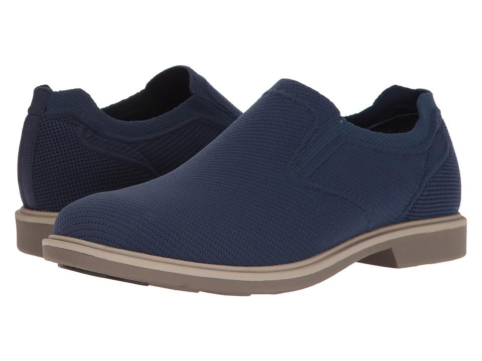 Mark Nason Ashaway (Navy Dressknit/Charcoal Welt/Gray Bottom) Men's Shoes