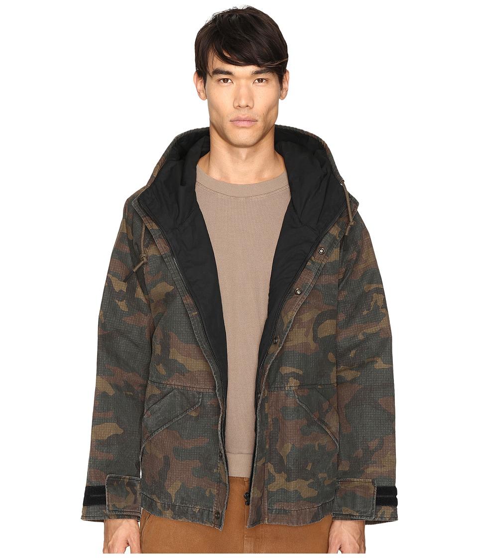 adidas Originals by Kanye West YEEZY SEASON 1 - Hooded Jacket (Camo) Men's Coat