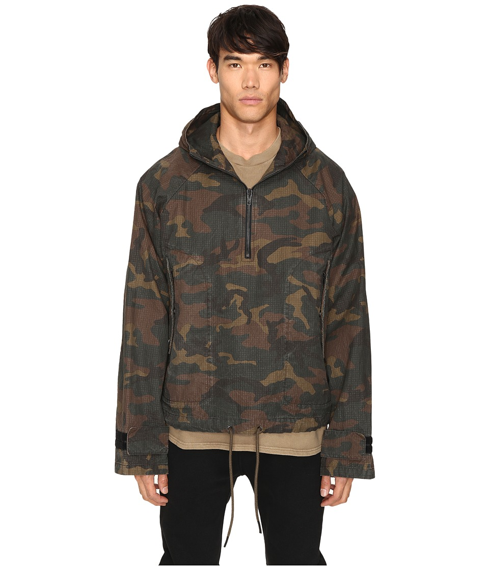 adidas Originals by Kanye West YEEZY SEASON 1 - Thin Jacket (Camo) Men's Coat