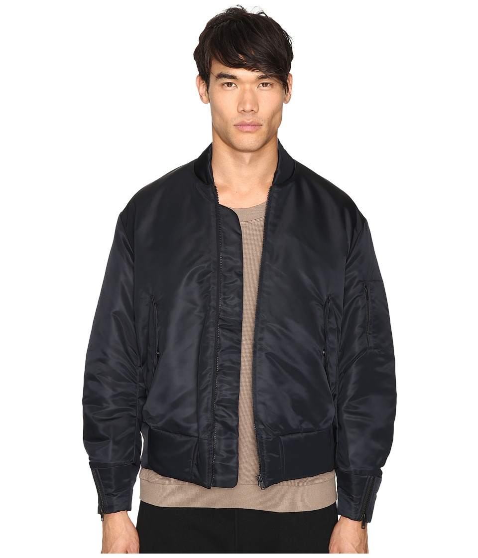 adidas Originals by Kanye West YEEZY SEASON 1 - Nylon Bomber (Black) Men's Coat