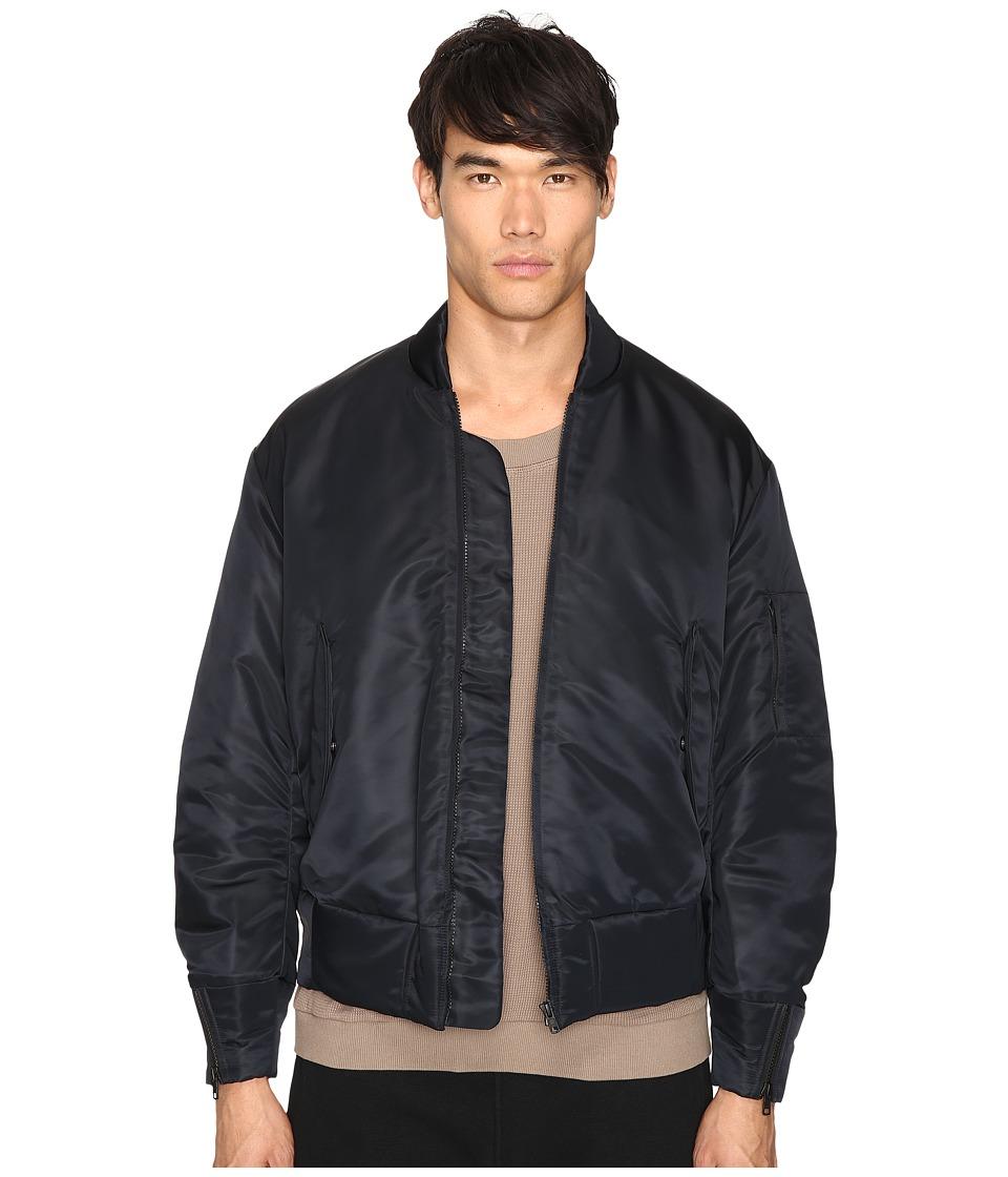 adidas Originals by Kanye West YEEZY SEASON 1 - Nylon Bomber (Black) Men's Coat