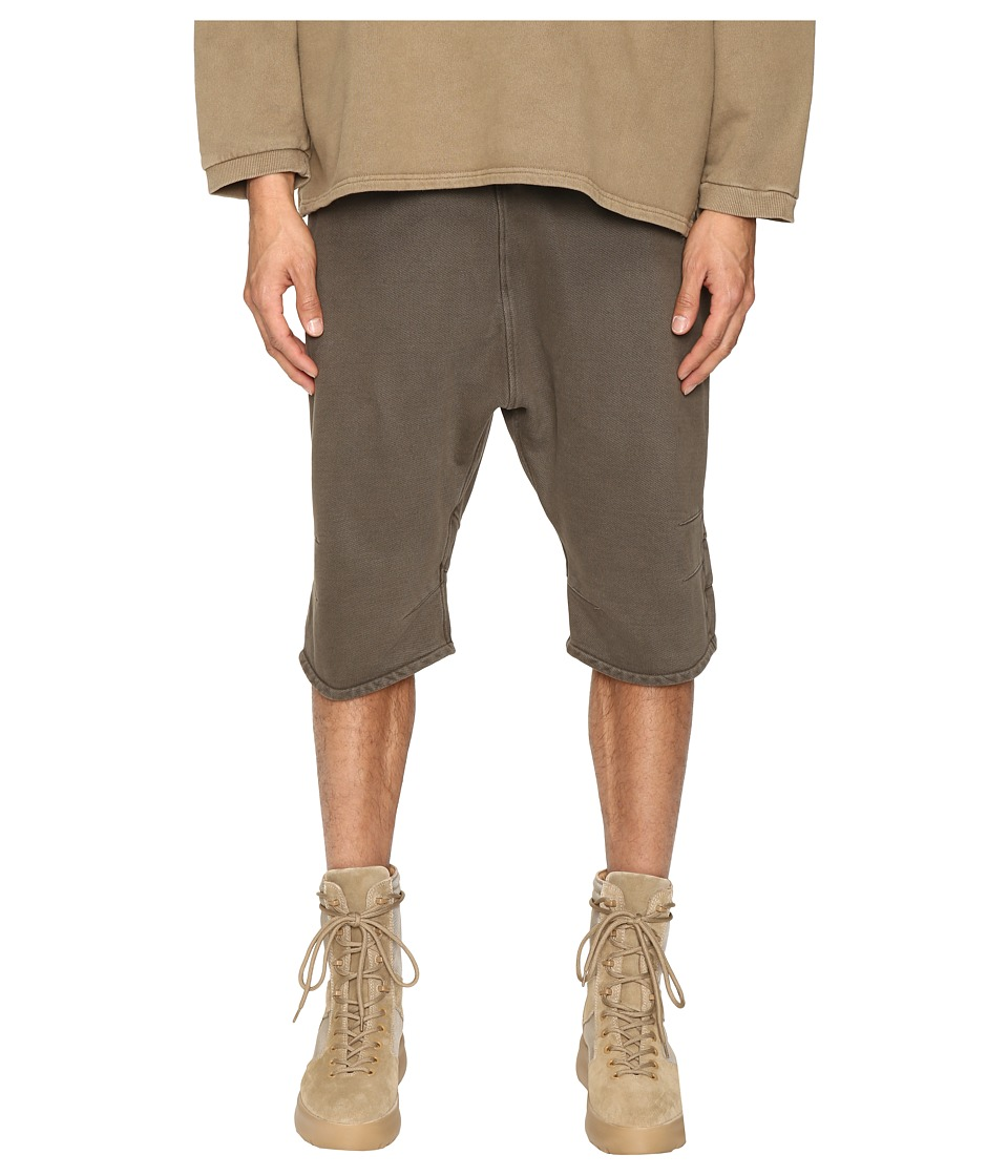 adidas Originals by Kanye West YEEZY SEASON 1 - FJ Shorts (Beluga) Men's Shorts