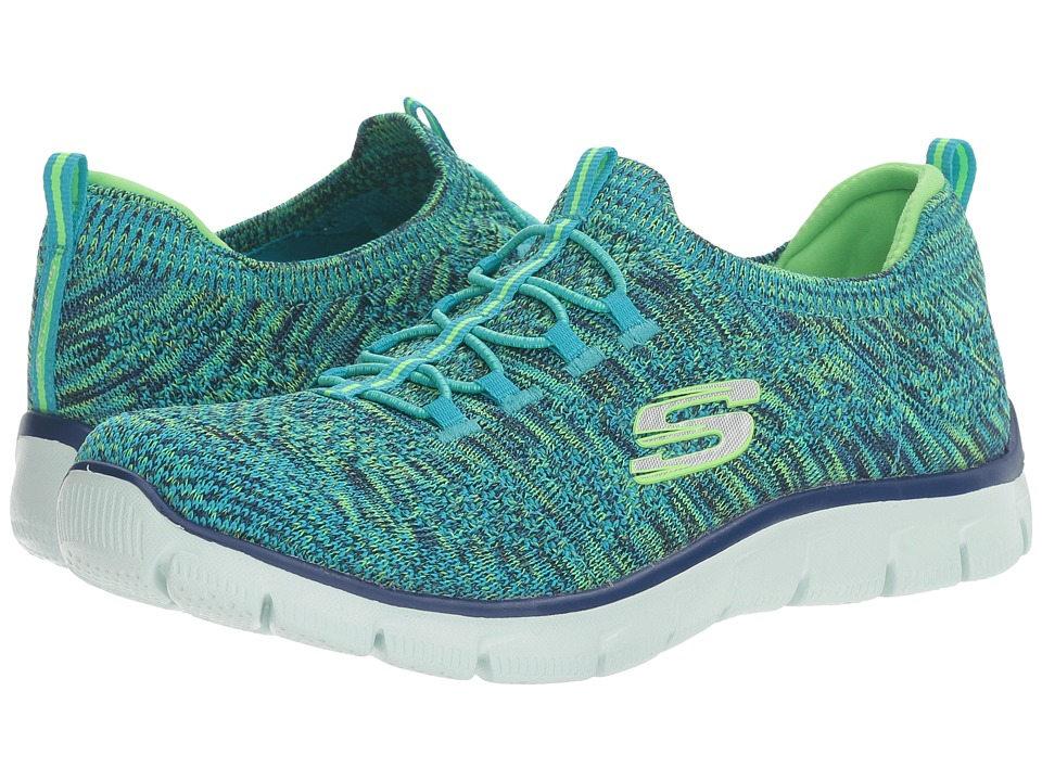 SKECHERS - Empire - Sharp Thinking (Blue/Black) Women's Lace up casual Shoes