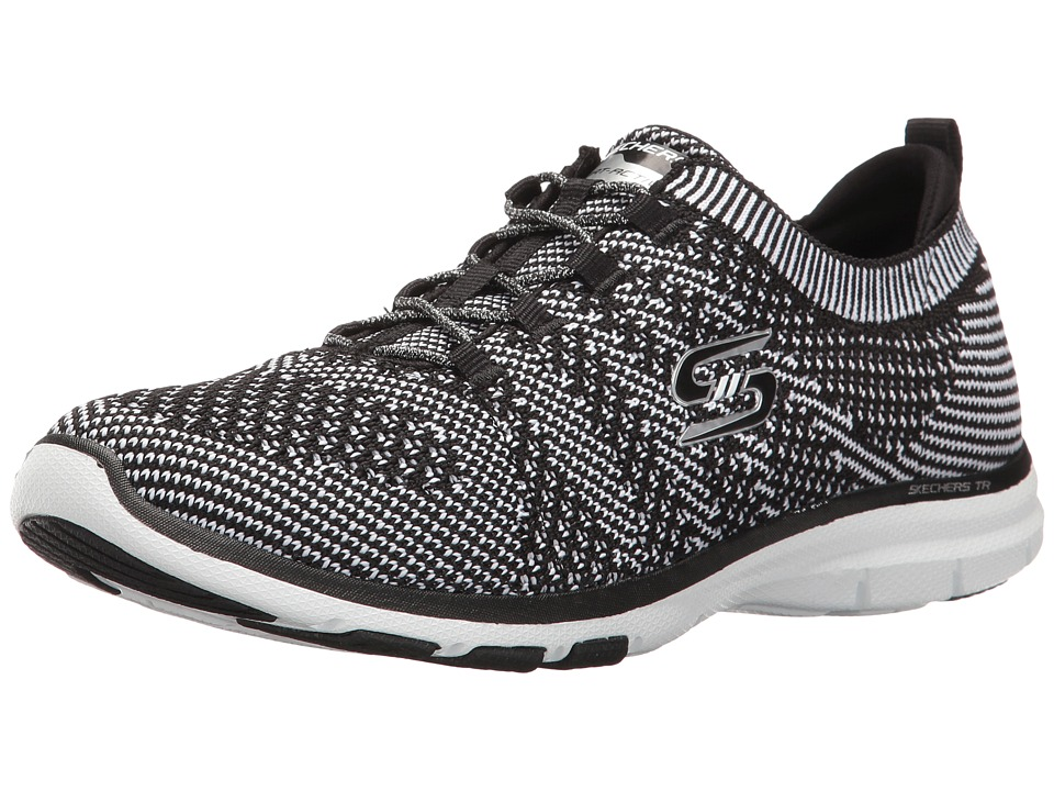 SKECHERS - Galaxies (Black 1) Women's Lace up casual Shoes
