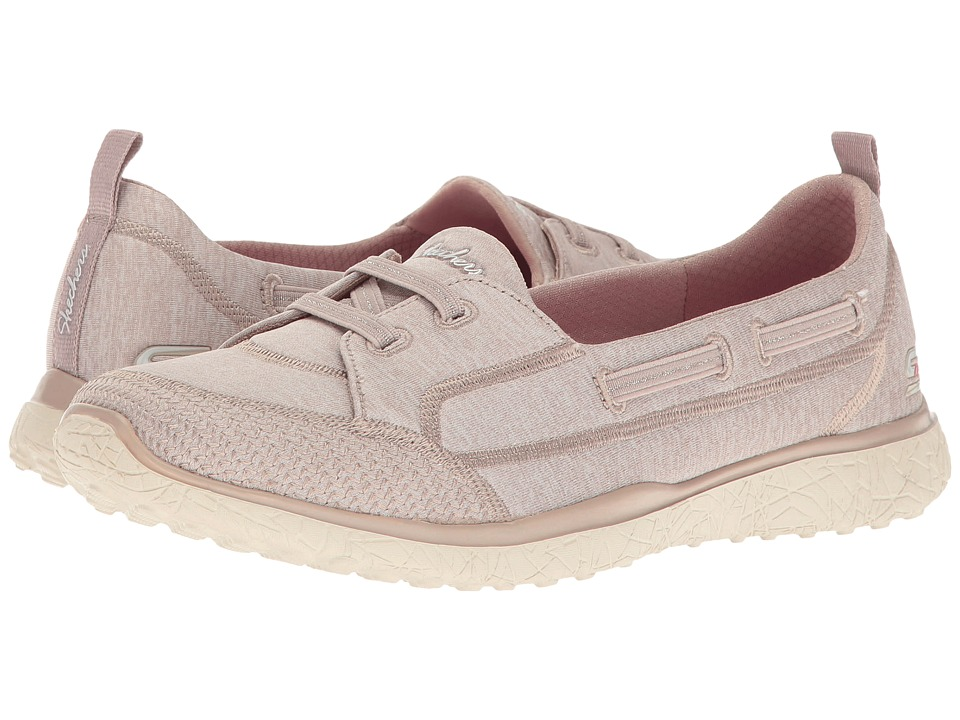 SKECHERS - Microburst - Topnotch (Taupe) Women's Lace up casual Shoes