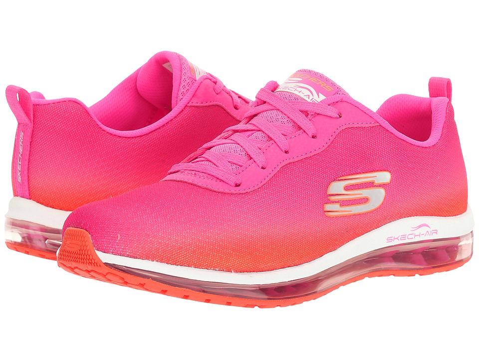 SKECHERS - Skech - Air Element (Pink/Orange) Women's Lace up casual Shoes