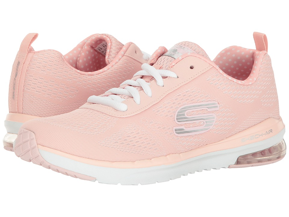 SKECHERS - Skech-Air Infinity (Light Pink) Women's Lace up casual Shoes