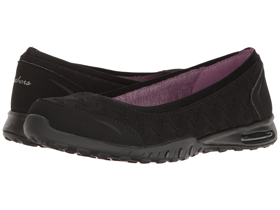 SKECHERS - Easy Air - Join Me (Black) Women's Slip on Shoes