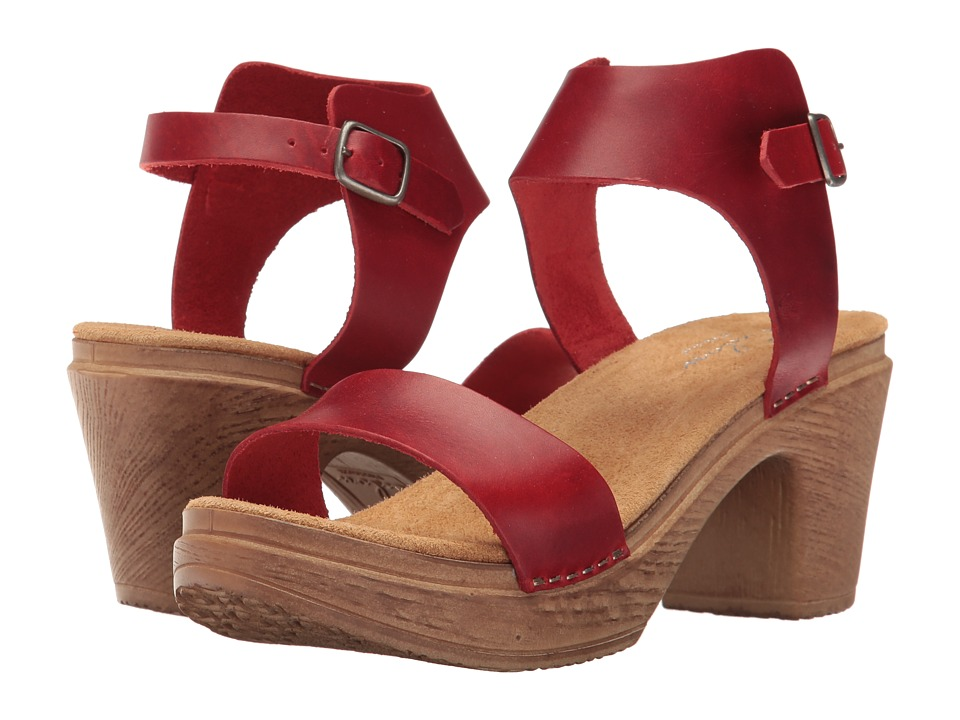 Calou Stockholm - Sara (Red) Women's Sandals
