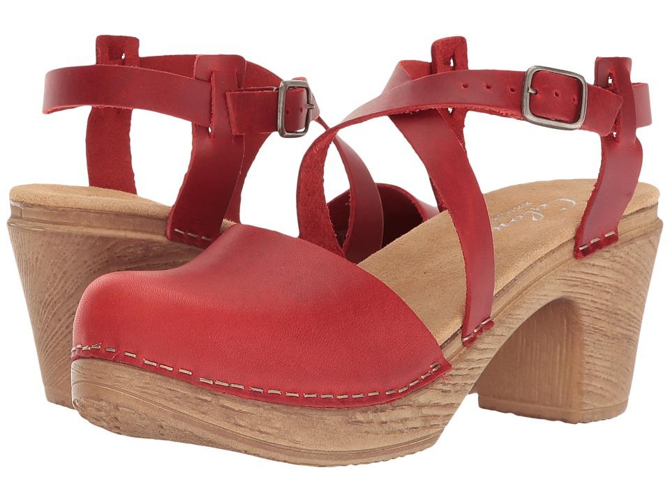 Calou Stockholm - Tilda (Red) Women's Shoes
