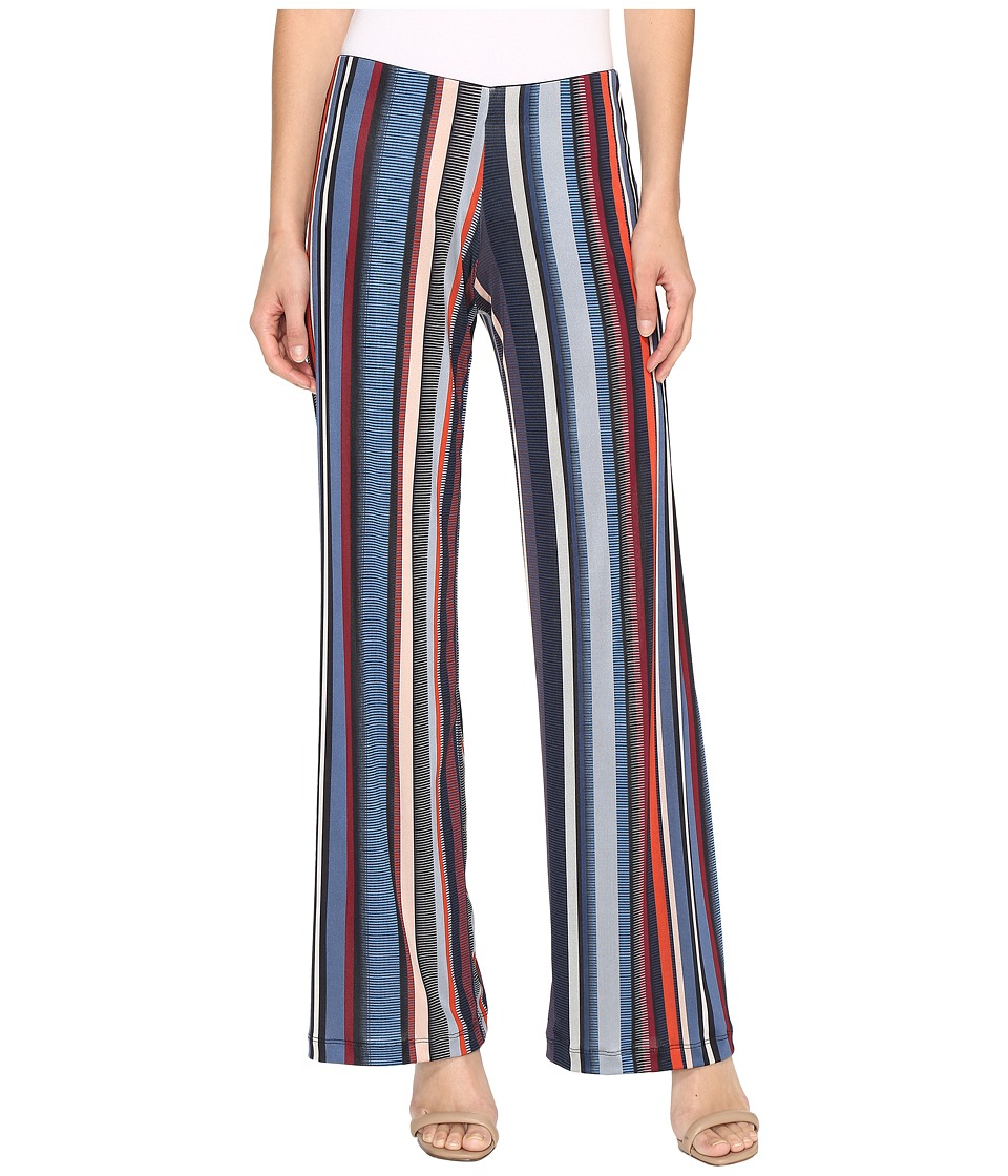 Nally & Millie - Multicolor Stripe Pants (Multi) Women's Casual Pants