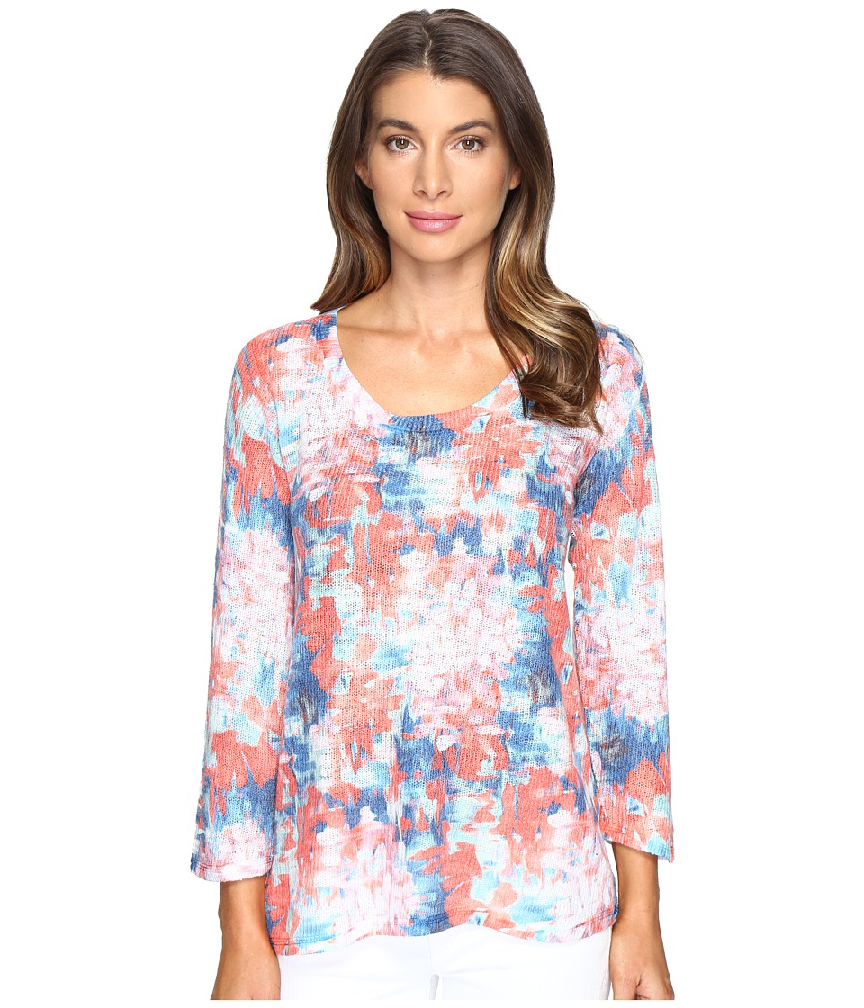 Nally & Millie - Blur Printed Top (Multi) Women's Sweater