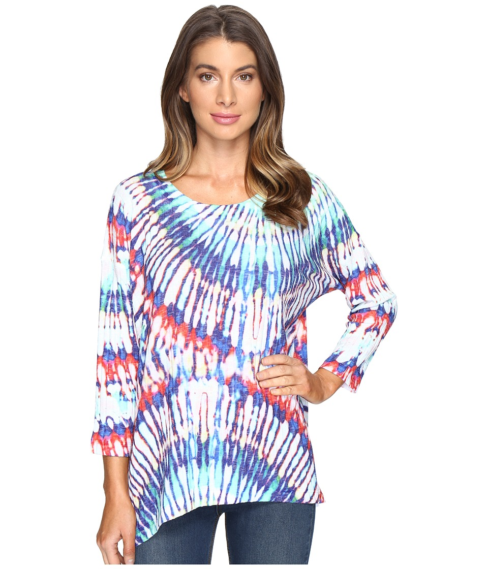 Nally & Millie - Tie-Dye Print Top (Multi) Women's Clothing