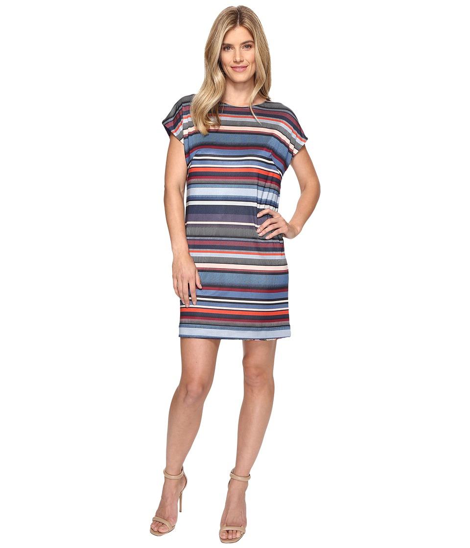 Nally & Millie - Reversible Printed Dress (Multi) Women's Dress